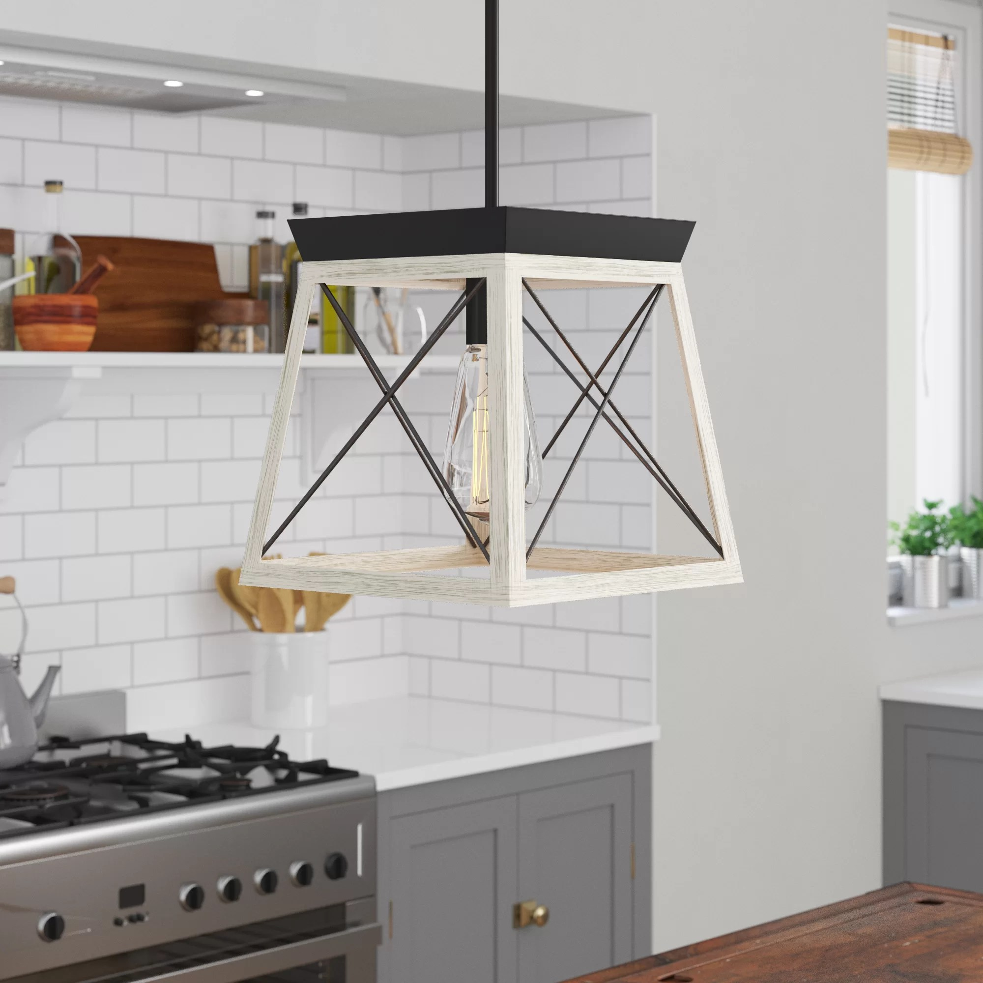 cottage country pendant lighting
