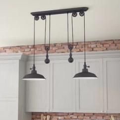 Kitchen Pendant Light Fixtures Utensil Island Lighting You Ll Love Wayfair Quickview