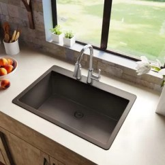 36 Inch Kitchen Sink Slab Cabinets Top Mount Wayfair Quickview