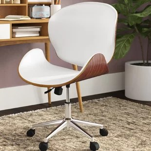 wood office chair zero gravity with canopy and cup holder chairs you ll love wayfair quickview