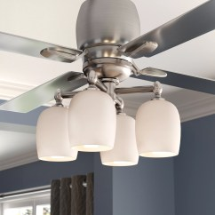 Ceiling Fan Light Kits 2004 Gmc Sierra 2500 Radio Wiring Diagram Darby Home Co 4 Branched Kit Reviews Wayfair