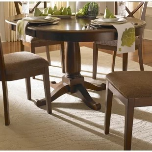 wooden kitchen tables apartment kitchens farmhouse dining birch lane kiantone extendable solid wood table