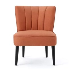 Orange Side Chair Fishing Umbrella Clamp Accent Chairs You Ll Love Wayfair Quickview