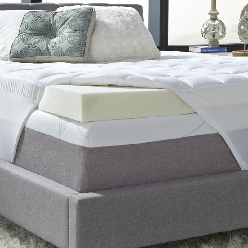 5 5 memory foam mattress topper