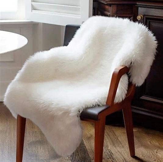fabulous furs chair throw