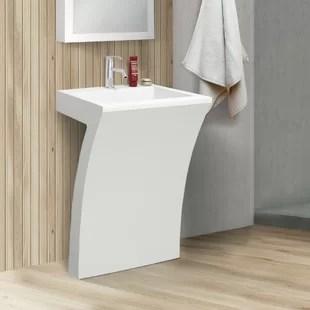 cedar falls 22 pedestal sink with overflow