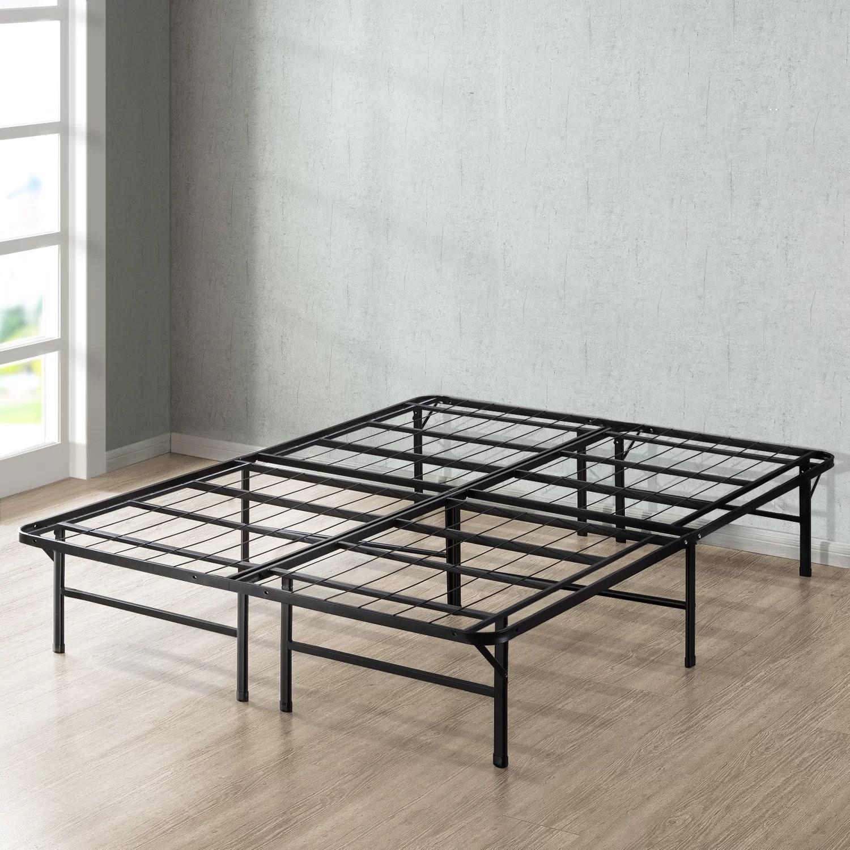 Alwyn Home Dual Use Metal Base Bed Frame Reviews Wayfair