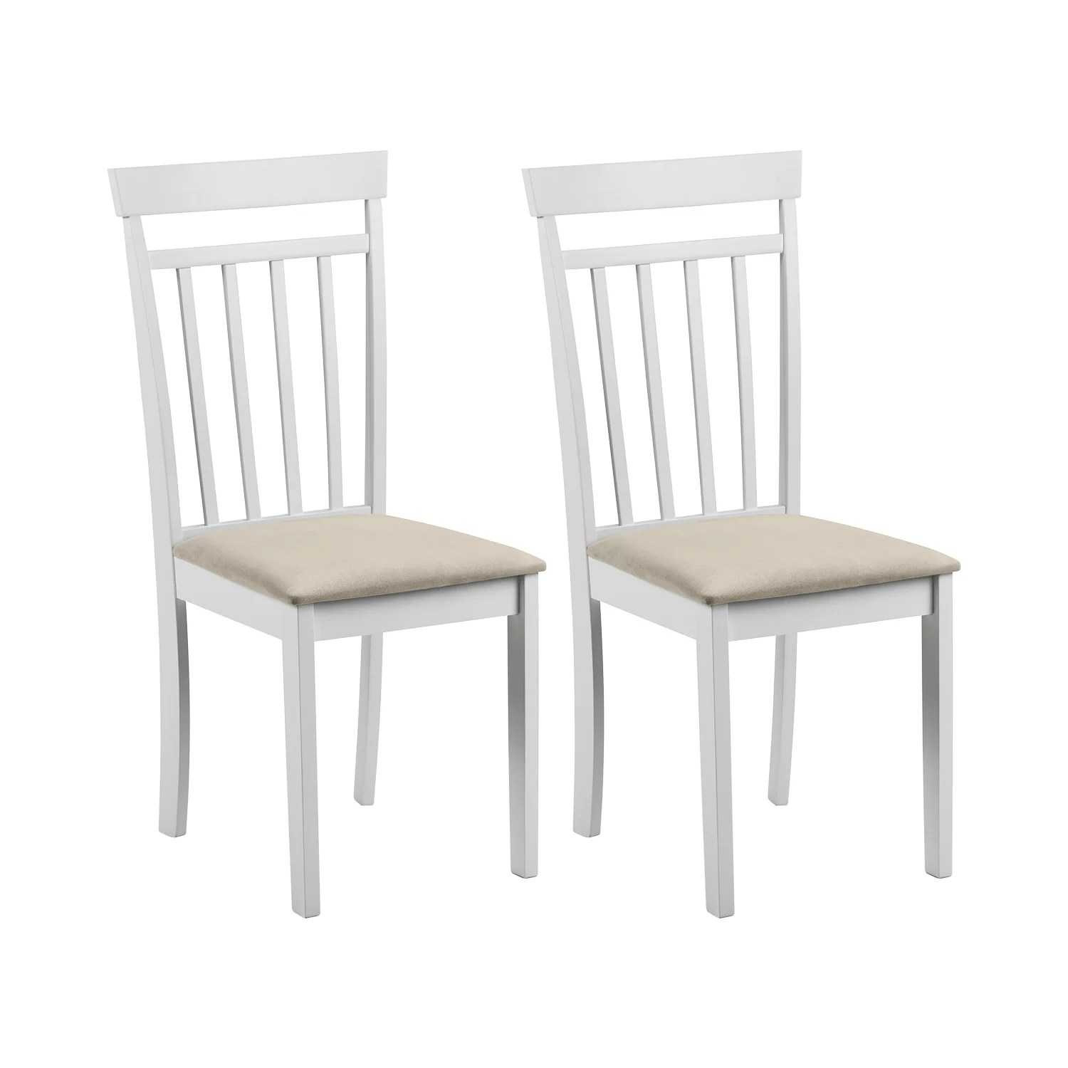 White Wooden Dining Chairs Inglewood Solid Wood Dining Chair