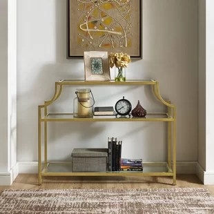 sofa tables for living room small lounge chair console and entryway you ll love wayfair nadia table