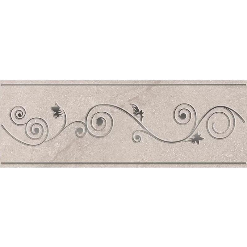 3 x 8 ceramic sonoma l 150 listello tile in gray