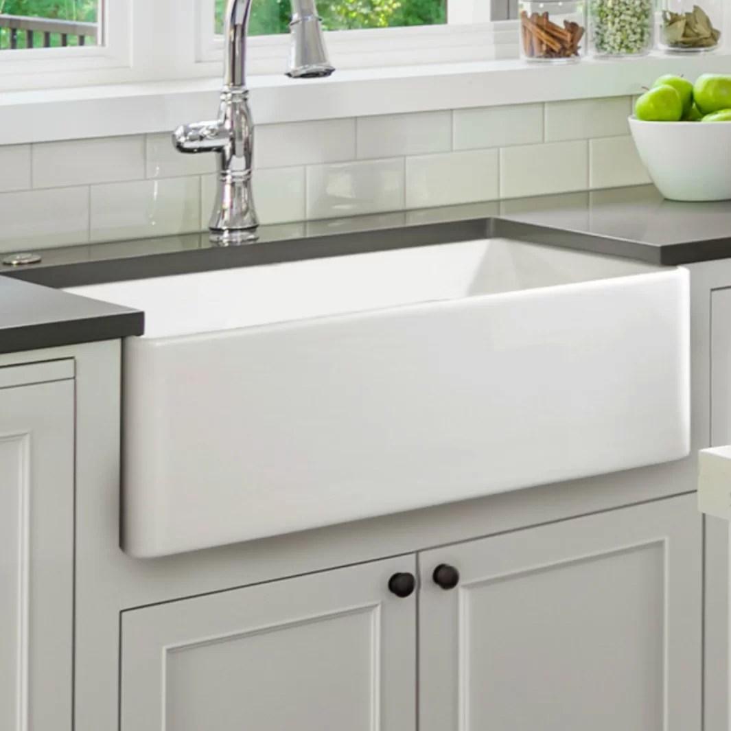 30 l x 18 w farmhouse kitchen sink