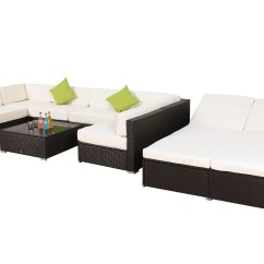 Low Back Lawn Chair 9 My Little Seat Travel High Orren Ellis Deloney Piece Rattan Sectional Set With Cushions Wayfair