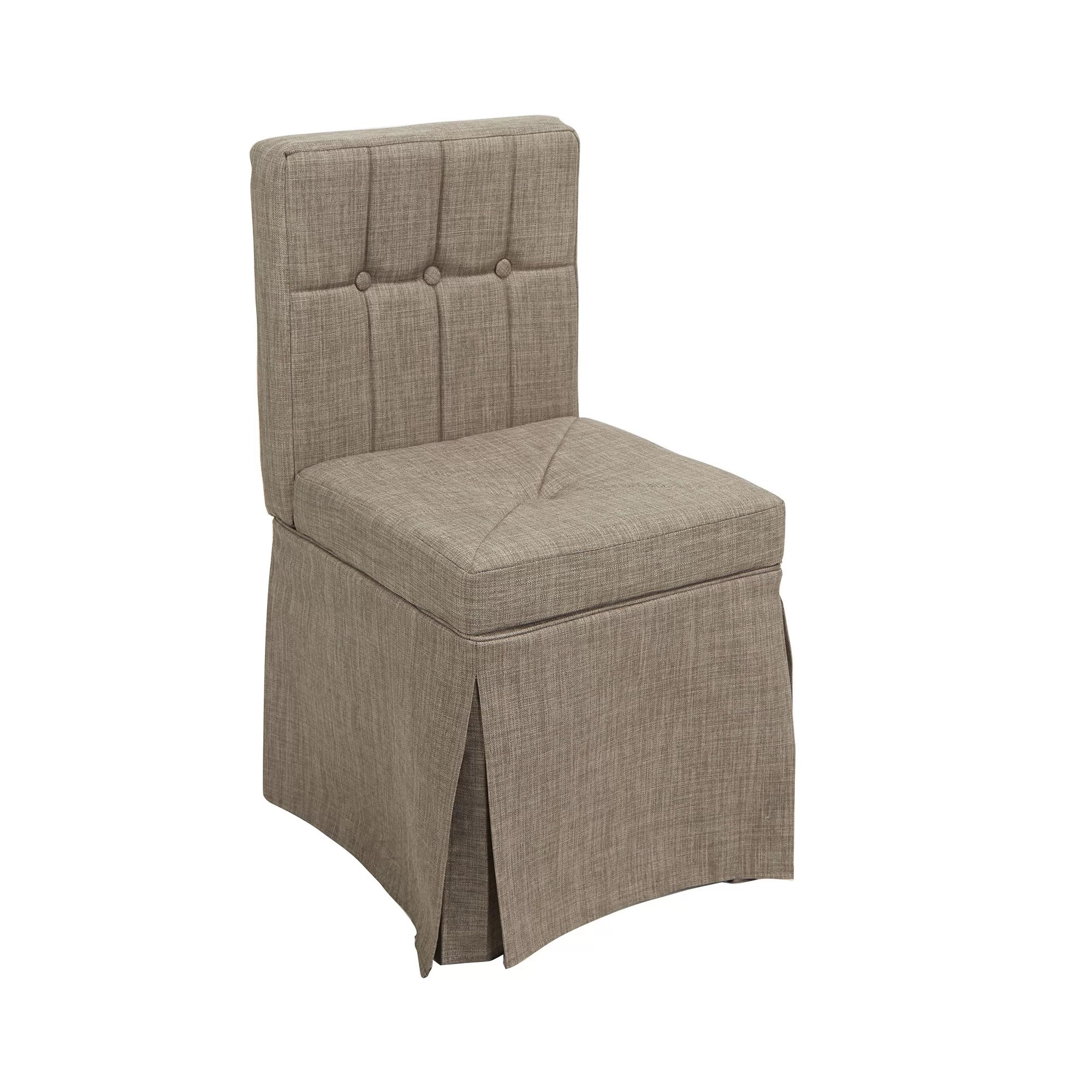 Tufted Vanity Chair Mccluskey Tufted Vanity Stool