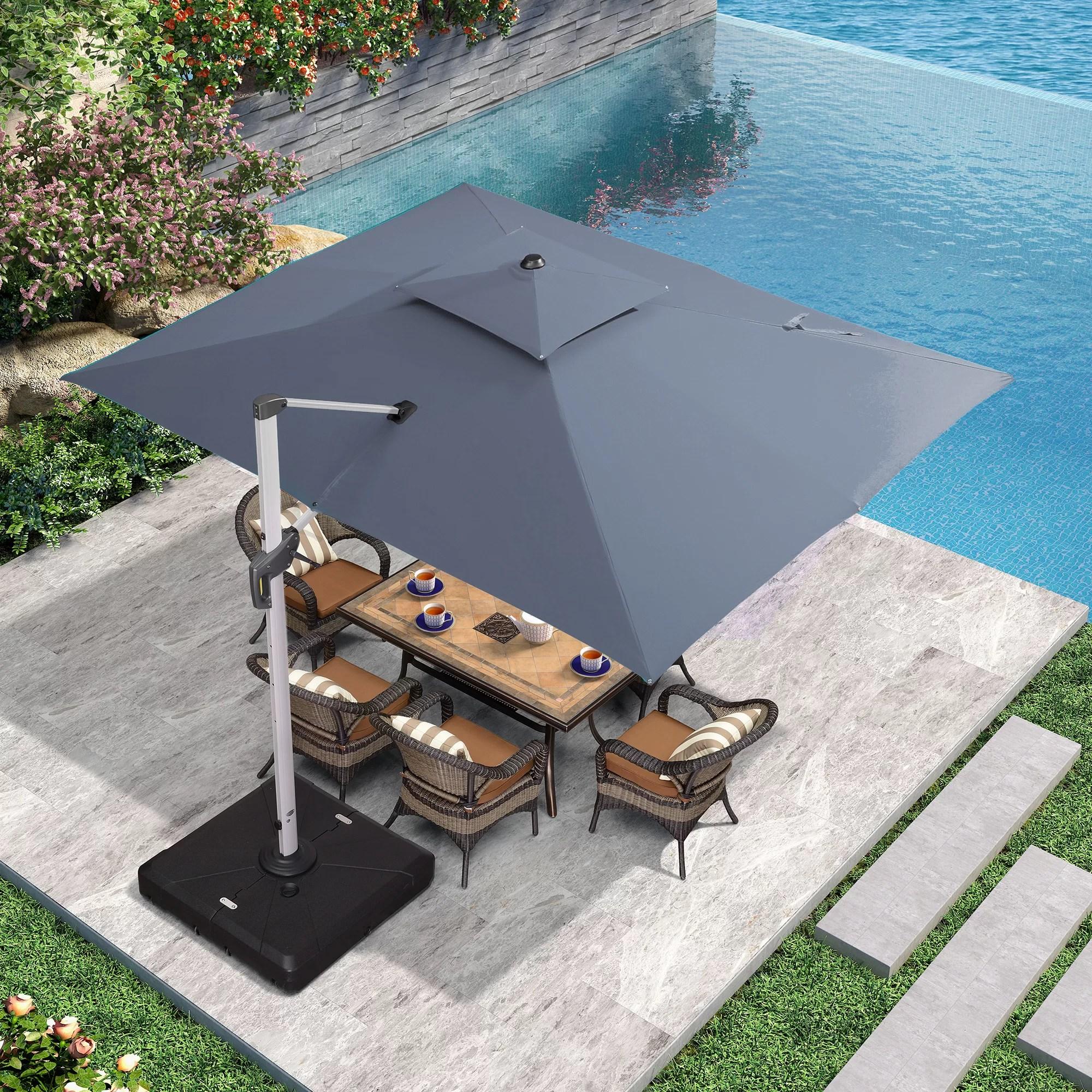 olivian 106 2 x 143 7 rectangular cantilever umbrella