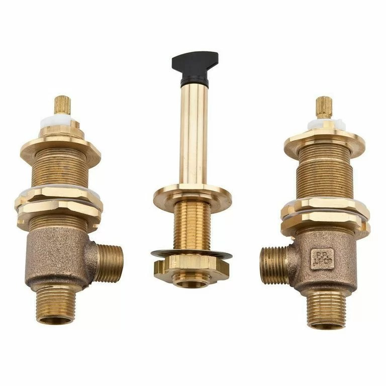 valve bodies roman tub faucet rough in valve with adjustable centers