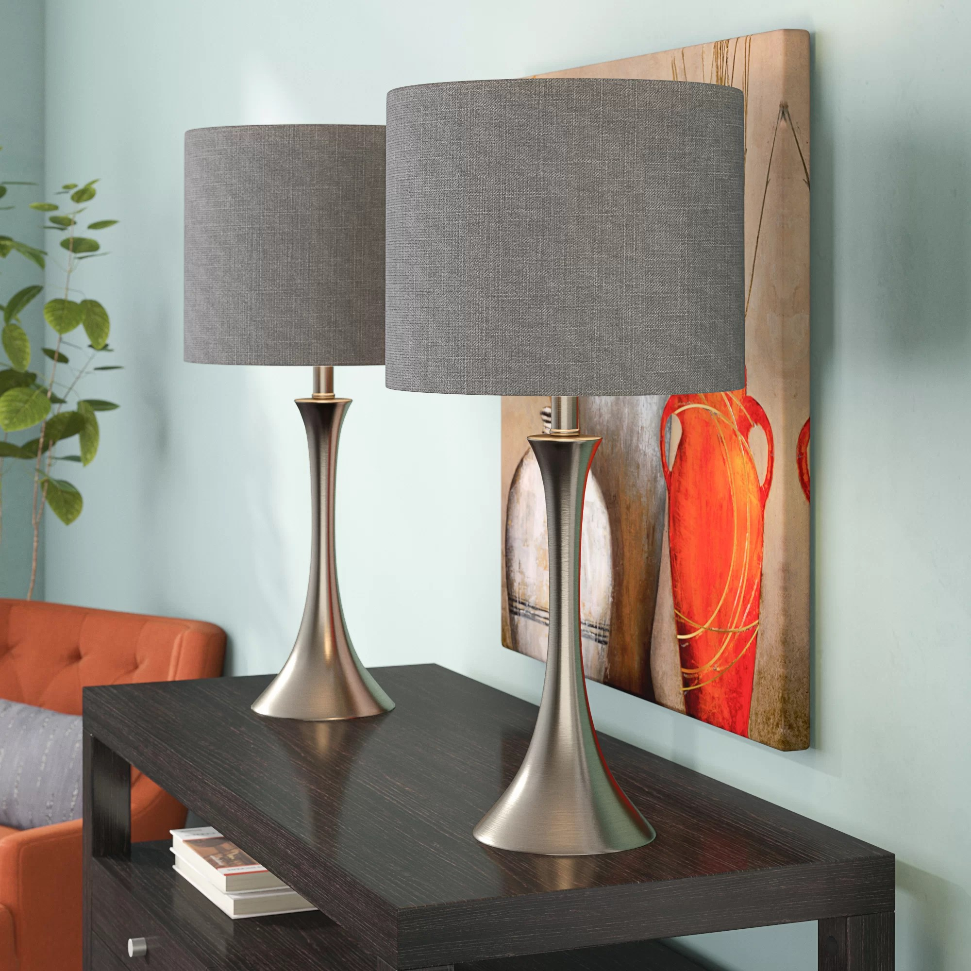 Brushed Table Lamps You Ll Love In 2020 Wayfair