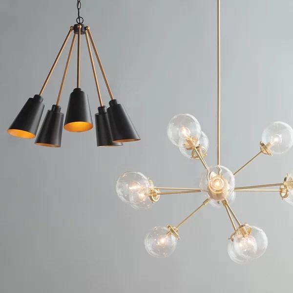 mid century modern lighting allmodern