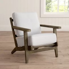 Wood Frame Accent Chairs Hardwood Floor Chair Protector Wayfair Lora Armchair