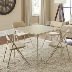 Folding Table And Chair Set Air Bag Argos Seats Included Tables You Ll Love Wayfair 5 Piece Square