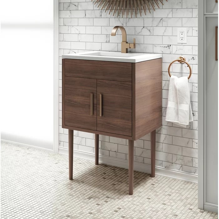 cutler kitchen and bath vanity black trash bags garland 24 single bathroom set wayfair ca