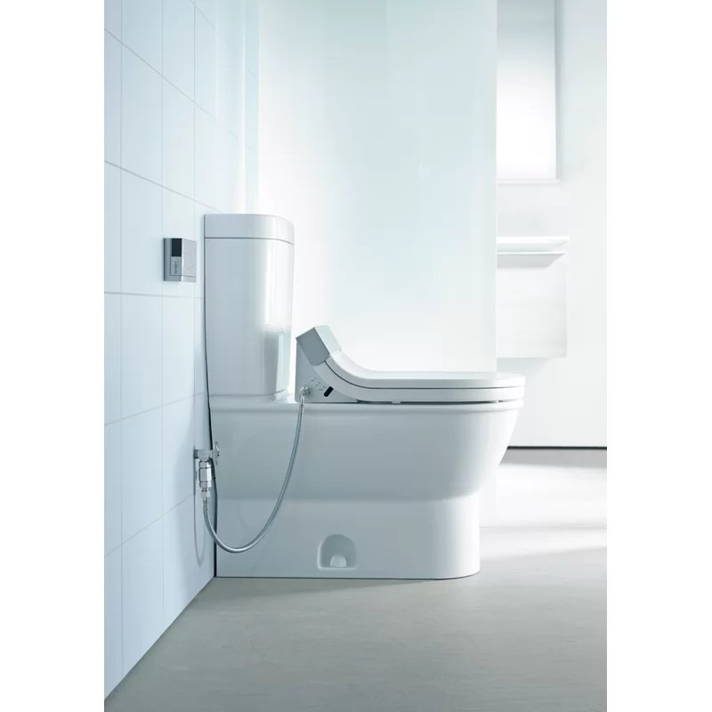 Darling New HET 1.28 GPF Elongated One-Piece Toilet (Seat Not Included)