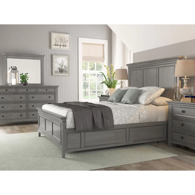 Three Posts Woodside Queen Standard Configurable Bedroom Set Reviews Wayfair