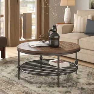 tables in living room modern brown carpet coffee you ll love wayfair hendrix table