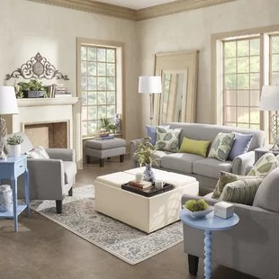 small living room furniture sets modern ideas with tv wayfair minisink configurable set