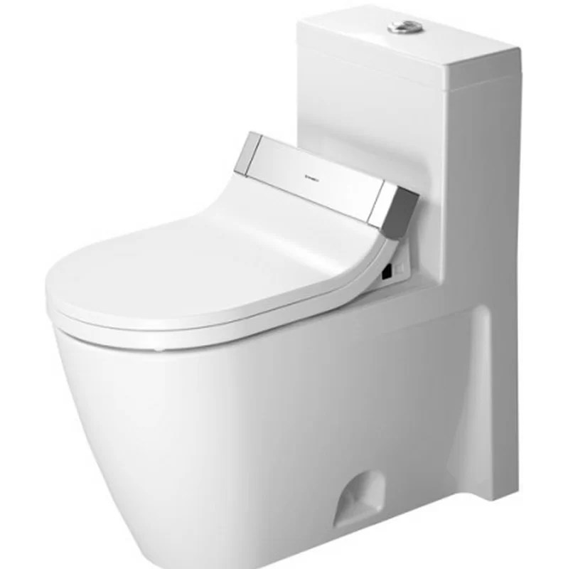 Starck HET/GB 1.28 GPF Elongated One-Piece Toilet (Seat Not Included)