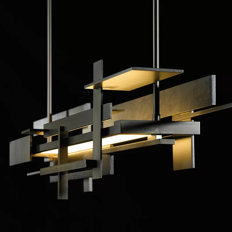 planar 1 light kitchen island linear led pendant