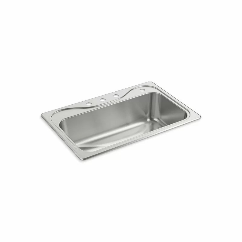 southhaven 33 l x 22 w x single basin drop in kitchen sink