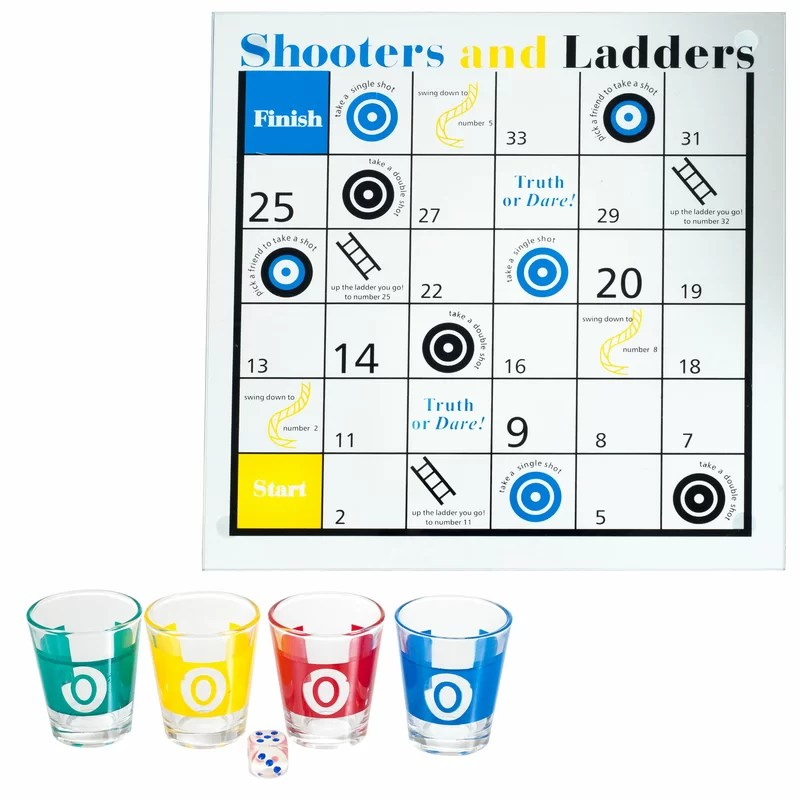 shooters and ladders drinking