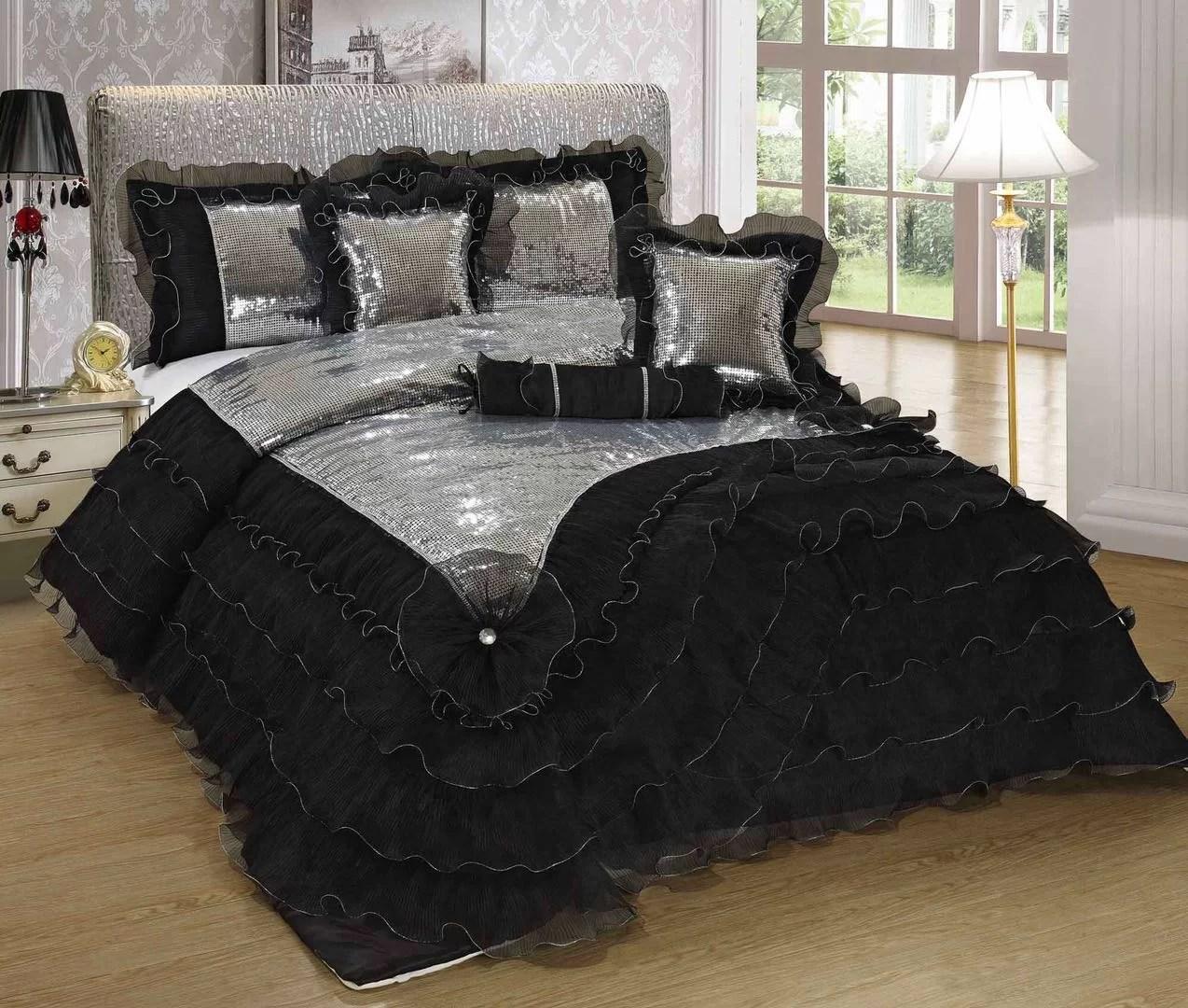 mila reversible 6 piece comforter set