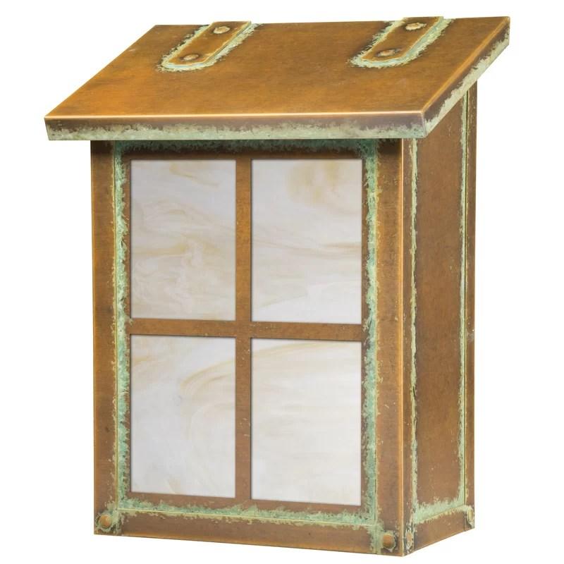 window wall mounted mailbox