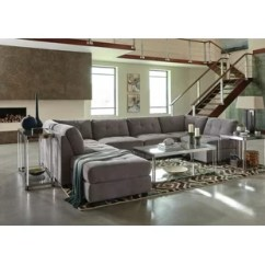Elliot Fabric Sectional Living Room Furniture Collection Formal Sets Microfiber Sectionals You Ll Love Wayfair Fowles Modular With Ottoman