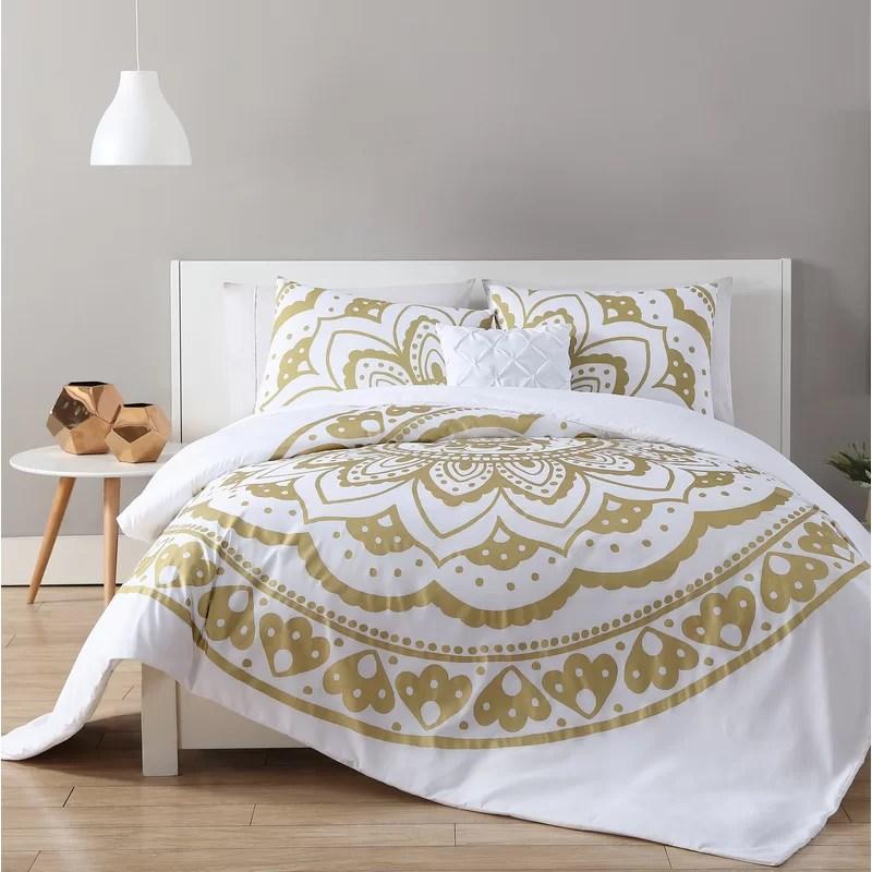 partin 4 piece comforter set