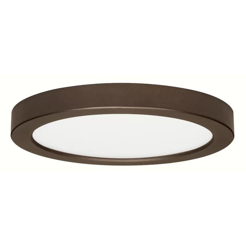 Elzy 1 - Light Simple Circle LED Flush Mount