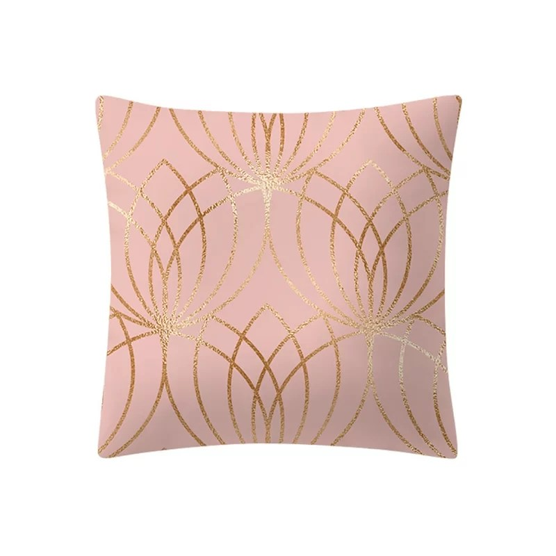 peach skin cashmere glam decorative throw pillow cushion cover only