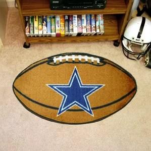 cowboys football helmet chair scoop back dining room chairs dallas wayfair nfl mat
