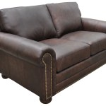 Omnia Leather Athens Genuine Leather Chesterfield Loveseat Wayfair