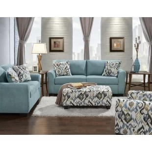 cheap 3 piece living room set navy blue chair new style easthampton by world menagerie