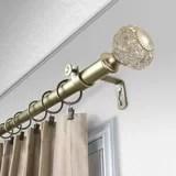 240 inch outdoor curtain rod wayfair
