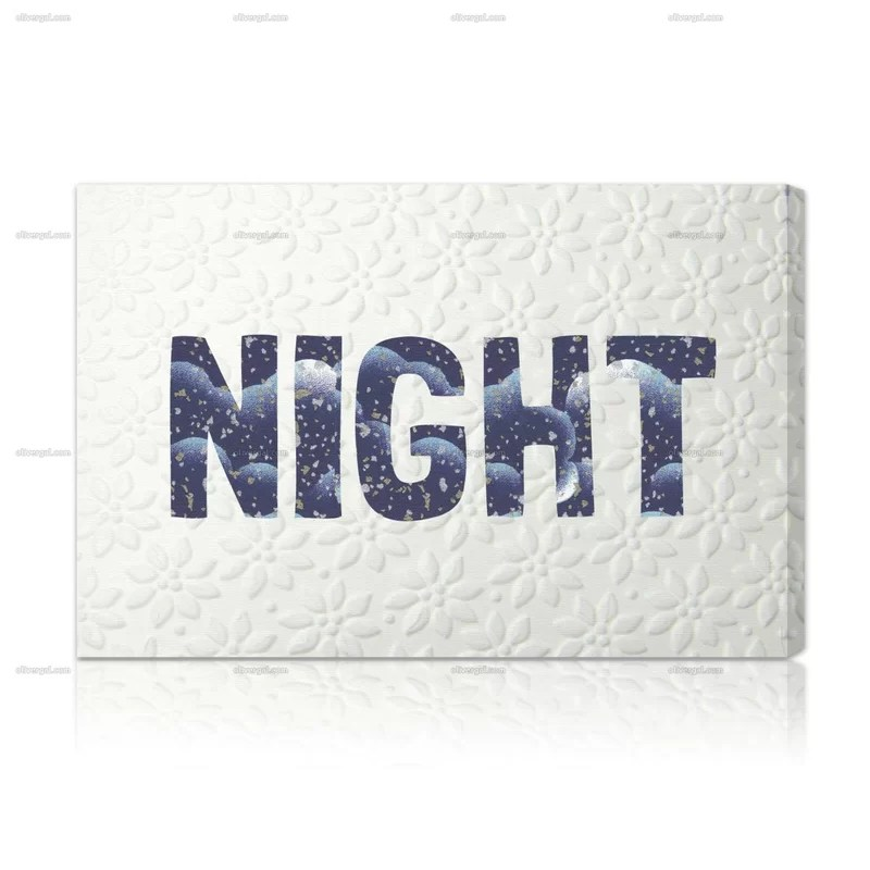 Blakely Home Night Textual Art on Wrapped Canvas Size: 20 H x 30 W
