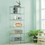 Andy 63 H X 21 3 W 6 Tier Wire Shelving Unit Organization