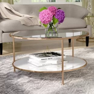 glass living room table rooms with accent chairs coffee tables you ll love wayfair ca jamiya