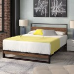King Size Platform Beds You Ll Love In 2020 Wayfair