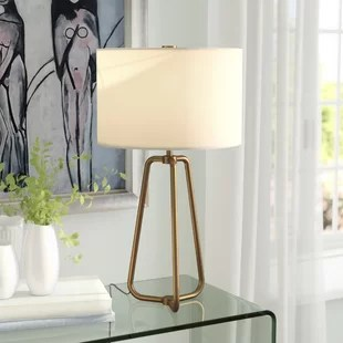 side lamps for living room best pc case table you ll love wayfair quickview