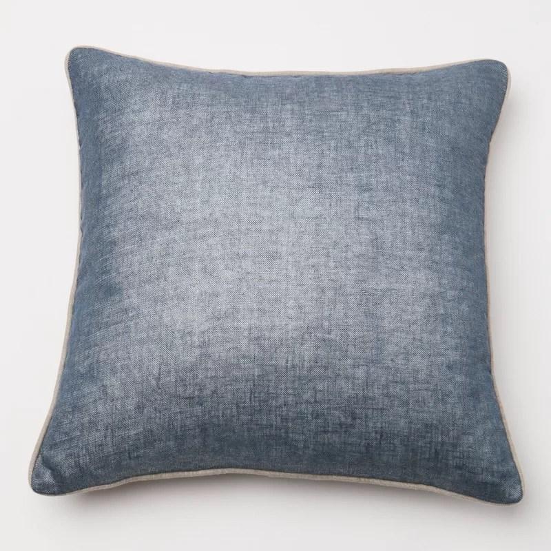 Throw Pillow Cover Color: Navy
