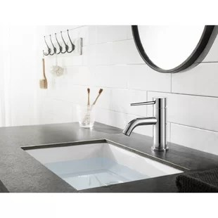 new york single hole bathroom faucet with drain assembly