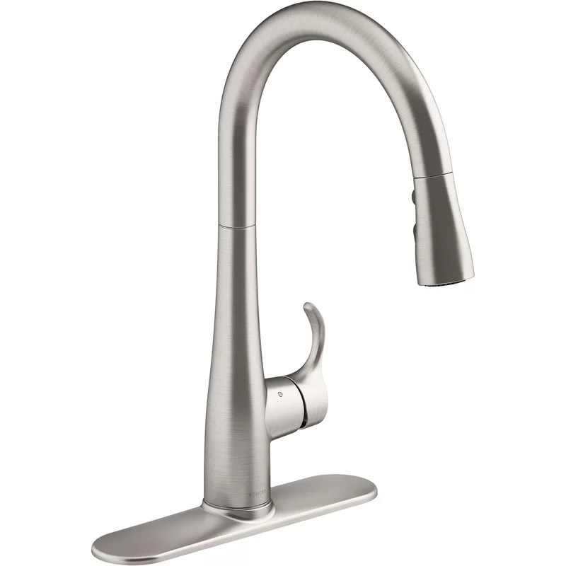 Go in prepared with these six pointers. Kohler Simplice Touchless Pull-Down Kitchen Sink Faucet ...